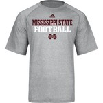 adidas Men's Mississippi State University Short Sleeve Climalite® T-shirt