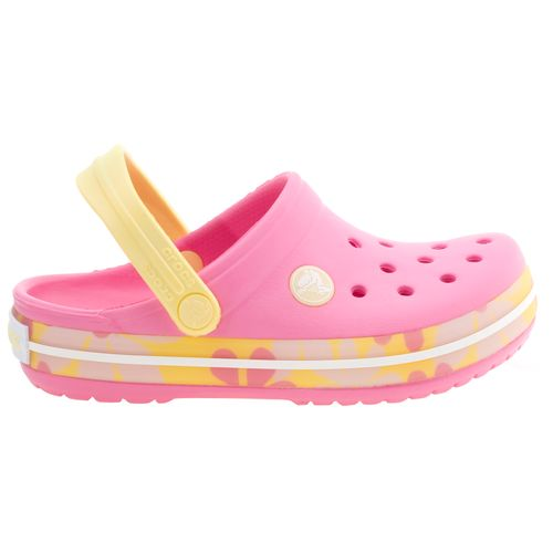 Crocs™ Girls' Crocband Tropic Flower Girls Shoes