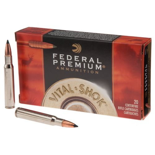 Federal Premium® Vital-Shok® Trophy Copper™ .30-06 Springfield 180-Grain Centerfire Rifle Ammunition
