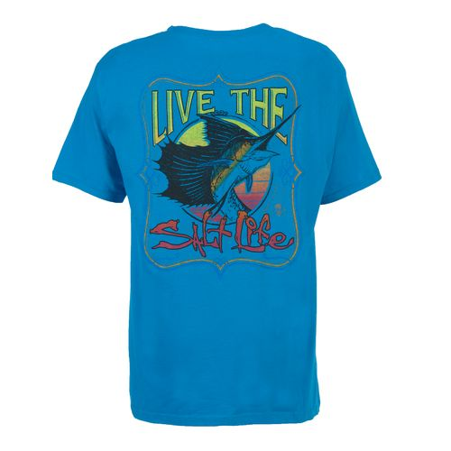 Image for Salt Life Men's Sailfish Delight Short Sleeve T-shirt from Academy