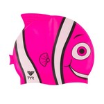 TYR Youth Happy Fish Swim Cap