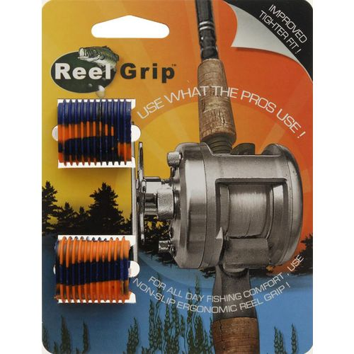 Reel Grip Blue/Orange Pair