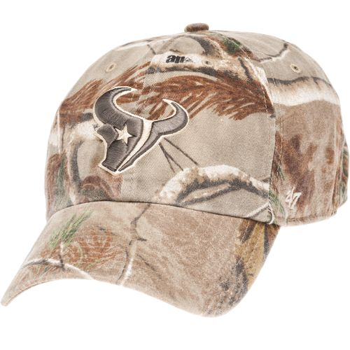 47 Men s Houston Texans Realtree Clean Up Cap