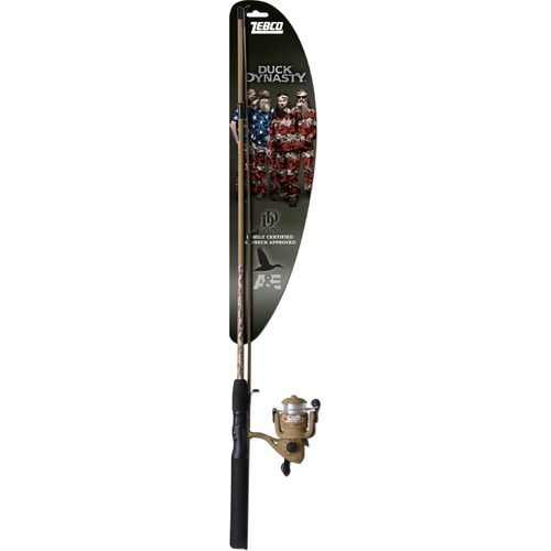 "Zebco Duck Dynasty 5'6"" ML Freshwater Spinning Rod and Reel Combo"