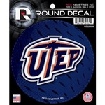 Rico University of Texas at El Paso Round Decal