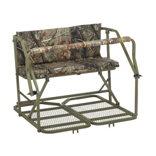 Display product reviews for Summit Classic Deluxe 2-Man Ladder Treestand