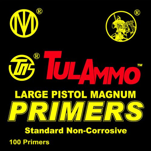 TulAmmo Large Magnum Pistol Primers 100-Pack