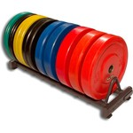 Body-Solid Rubber Bumper Plate Rack - view number 2