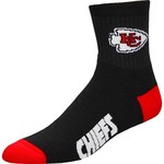 For Bare Feet Men's Kansas City Chiefs Originals Team Quarter Socks - view number 1