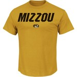 Majestic Men's University of Missouri Section 101 Big Ambition T-shirt