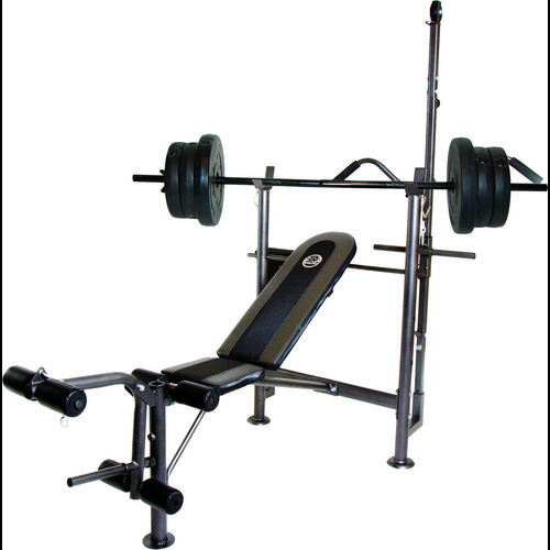 Display product reviews for CAP Barbell Combo Bench with 80 lb. Weight Set