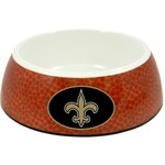 GameWear New Orleans Saints Classic NFL Football Pet Bowl