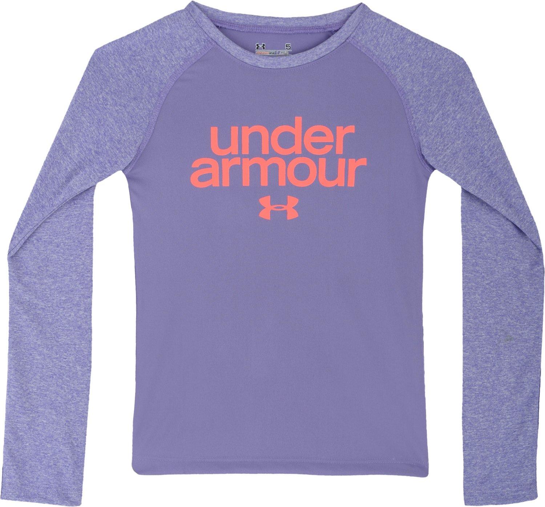 Under Armour Toddler Girls 39 Comingle Raglan Shirt Academy