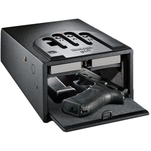 Display product reviews for GunVault MiniVault Biometric GVB 1000 2-Gun Safe
