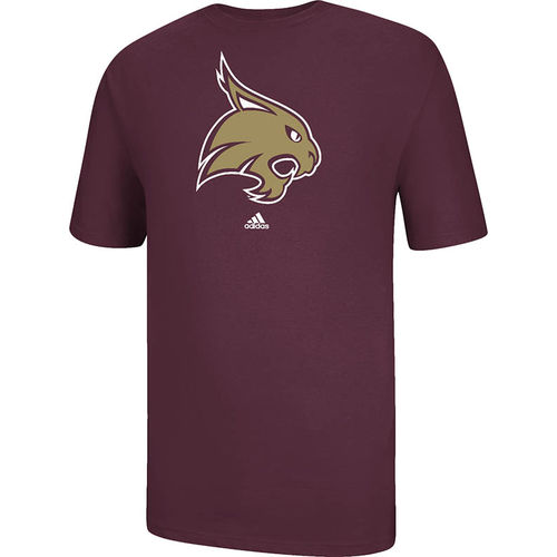 adidas Men's Texas State University School Logo T-shirt - view number 1