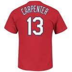 Majestic Men's St. Louis Cardinals Matt Carpenter #13 T-shirt