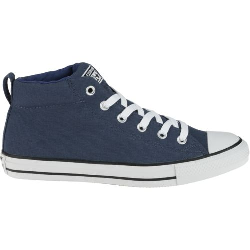 Adults Chuck Taylor Street Mid Athletic Lifestyle Shoes From Academy
