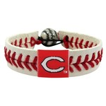 GameWear Adults' Cincinnati Reds Classic Baseball Bracelet