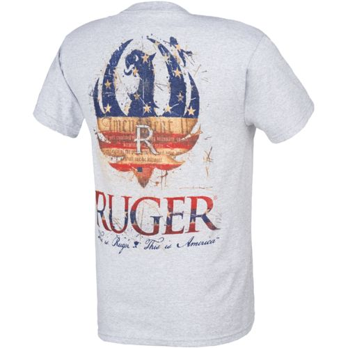 Club Red Men's American Ruger T-shirt
