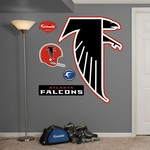 Fathead Atlanta Falcons Classic Logo and Team Decals 5-Pack