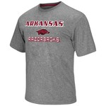 Colosseum Athletics Men's University of Arkansas Arena Poly Short Sleeve T-shirt