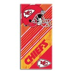 NFL Kansas City Chiefs Diagonal Beach Towel