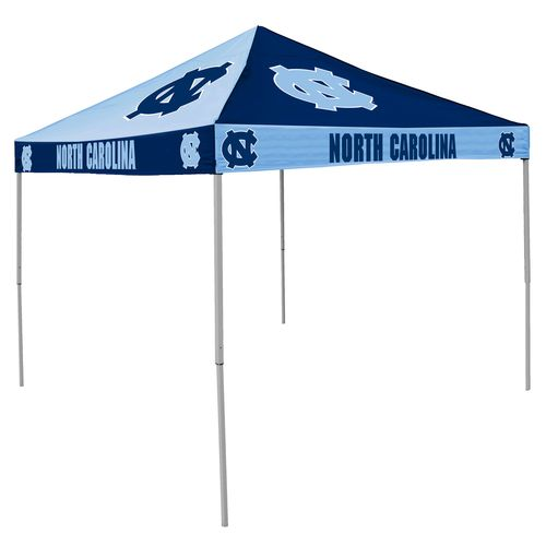Logo University of North Carolina Straight-Leg 9 ft x 9 ft Checkerboard Tent