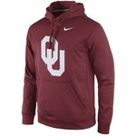 Nike Men's University of Oklahoma Perfect Practice Pullover Hoodie