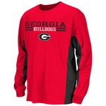 Colosseum Athletics Kids' University of Georgia Poly Long Sleeve T-shirt