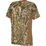 Magellan Outdoors™ Men's Allover Camo Colorblock Short Sleeve Performance Shirt