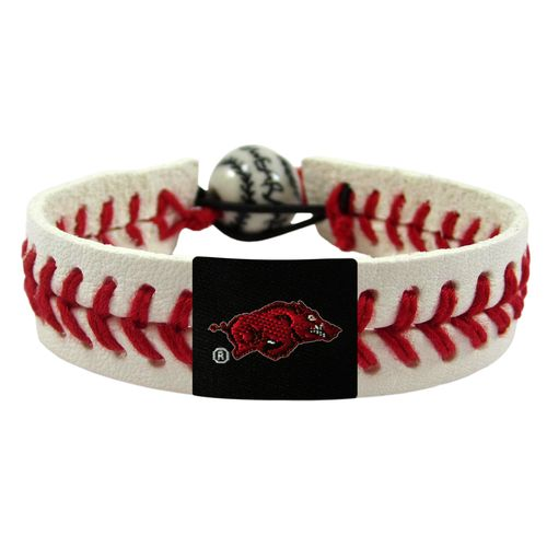 GameWear Adults' University of Arkansas Classic Baseball Bracelet