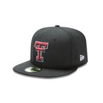 New Era Men's Texas Tech University 59FIFTY Cap