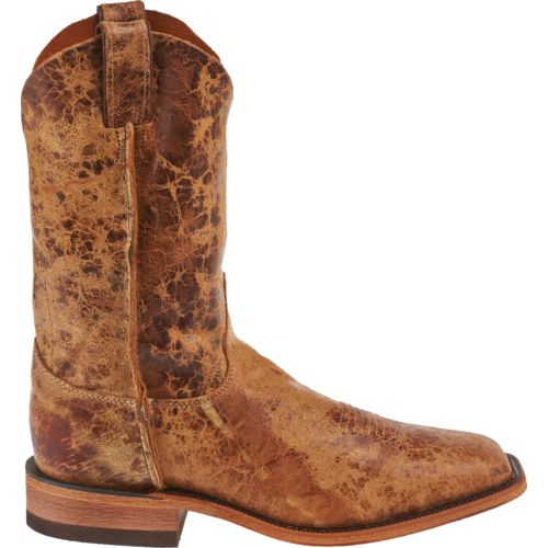 Justin Men's Cracked Bent Rail Boots