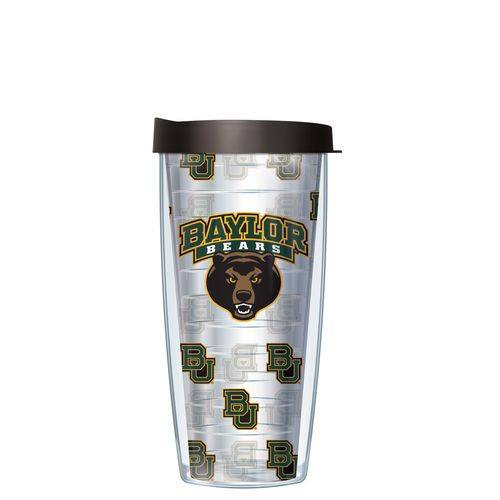 Signature Tumblers Baylor University 16 oz. Repeated Pattern Traveler Insulated Tumbler