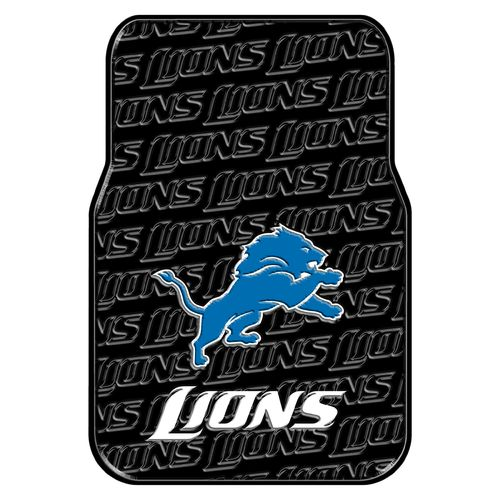 The Northwest Company Detroit Lions Front Car Floor Mats 2-Pack