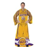 The Northwest Company Los Angeles Lakers Uniform Comfy Throw