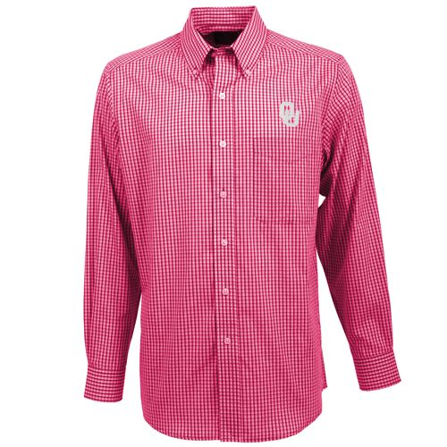 Antigua Men's University of Oklahoma Associate Button-Down Shirt