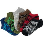 BCG™ Boys' Fashion No-Show Digital Camo Socks 6-Pack
