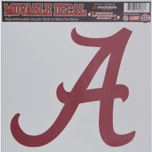 Display product reviews for Stockdale University of Alabama Single Logo Decal