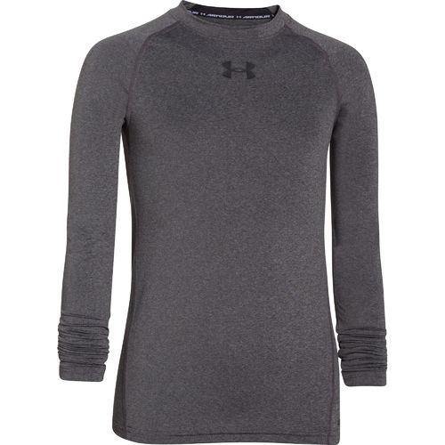 Display product reviews for Under Armour Boys' HeatGear Armour Fitted Long Sleeve T-shirt