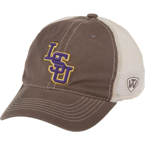Top of the World Adults' Louisiana State University Putty Cap - view number 1