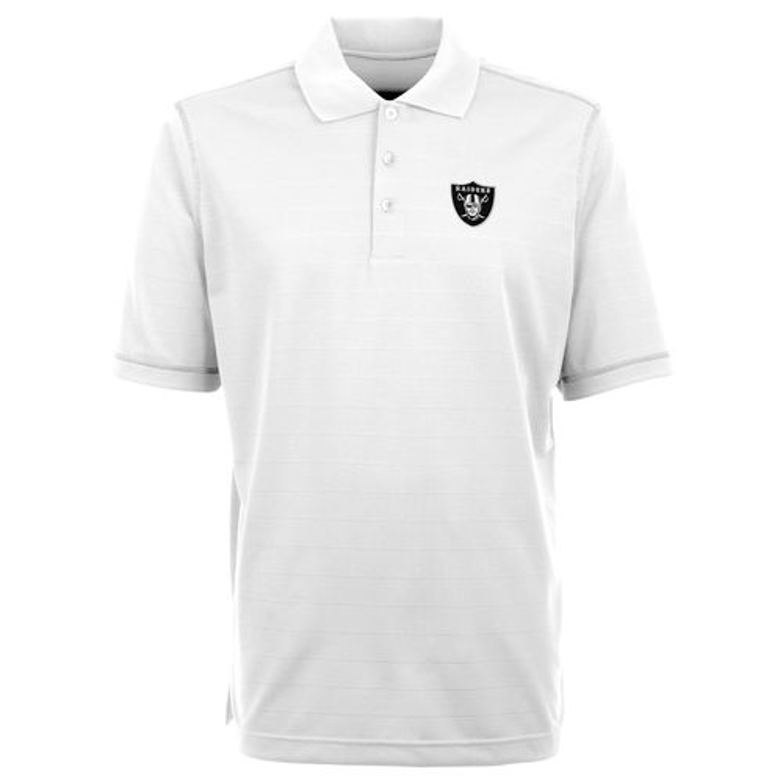 Antigua Men 39 S Oakland Raiders Icon Short Sleeve Polo Shirt
