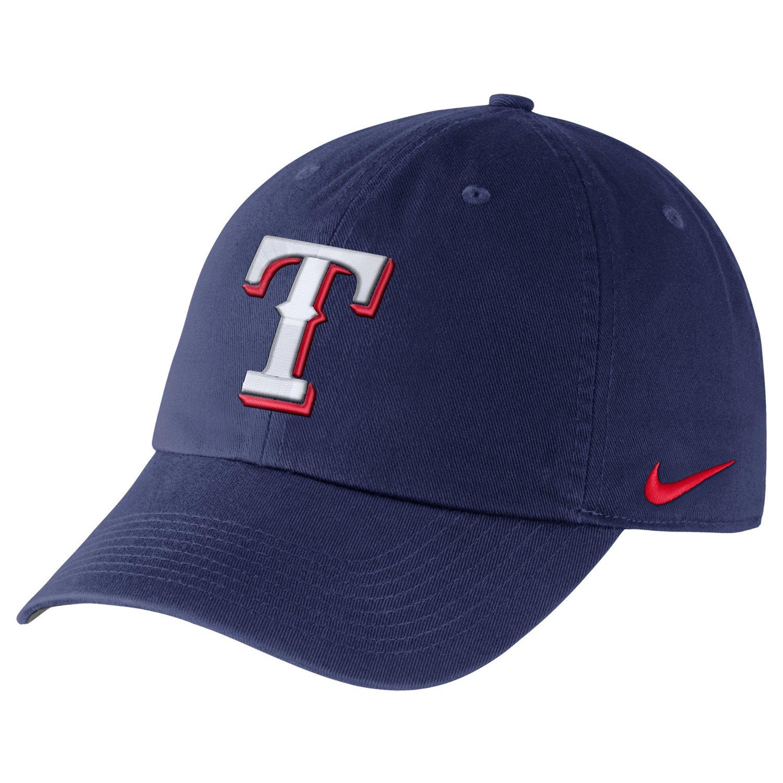 Nike™ Adults' Texas Rangers Heritage86 Dri-FIT Stadium Cap