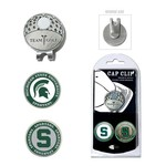 Team Golf Michigan State University Marker Cap Clip - view number 1