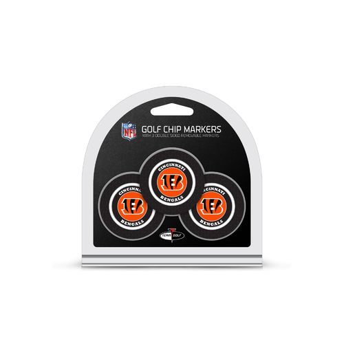 Team Golf Cincinnati Bengals Poker Chip and Golf Ball Marker Set
