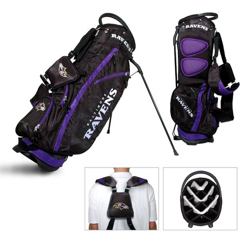 Team Golf Baltimore Ravens Fairway 14-Way Golf Stand