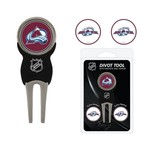 Team Golf Colorado Avalanche Divot Tool and Ball Marker Set - view number 1