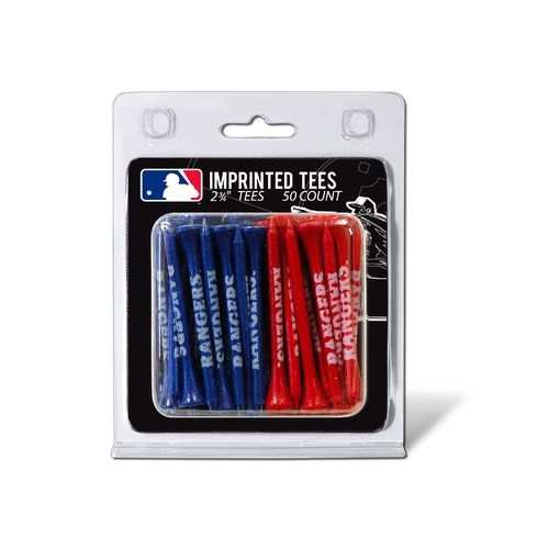 Team Golf Texas Rangers Golf Tees 50-Pack