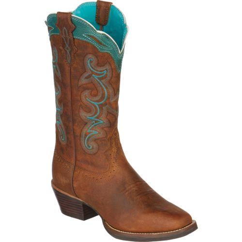 Justin Women's Silver Collection Western Boots - view number 2