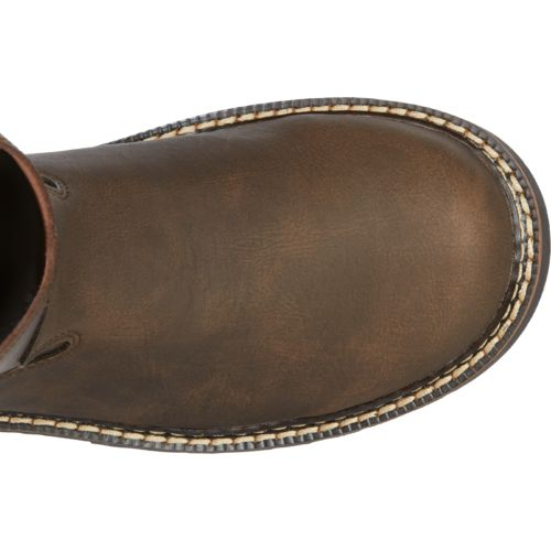 Justin Kids' Bay Gaucho Cowhide Western Boots - view number 4